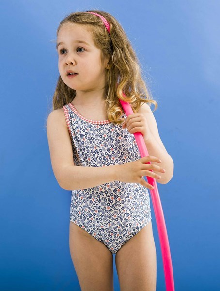Picture of Itacaré - cross back kids one piece