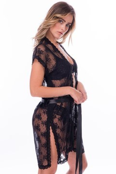 Picture of Lisa - lace robe