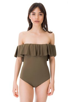 Picture of Venecia - ruffle sleeve one piece