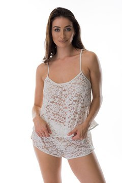 Picture of Desire - lace PJ set