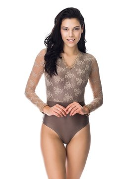 Picture of Milano - V neck lace bodysuit