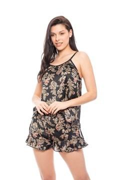 Imagen de Jazmín - Pijama corto de seda