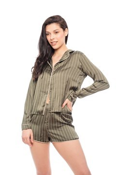 Picture of Agnes - Satin Short PJ Set