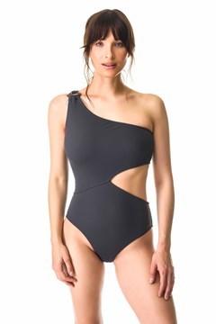Picture of Soho - Malla entera trikini un hombro con cortes