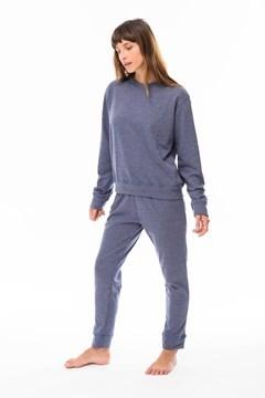 Picture of Kendra - Conjunto de Jogging Liso Azul
